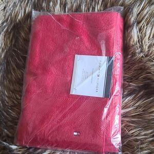 "Modern American 30"" x 54"" Cotton Bath Towels - Red"